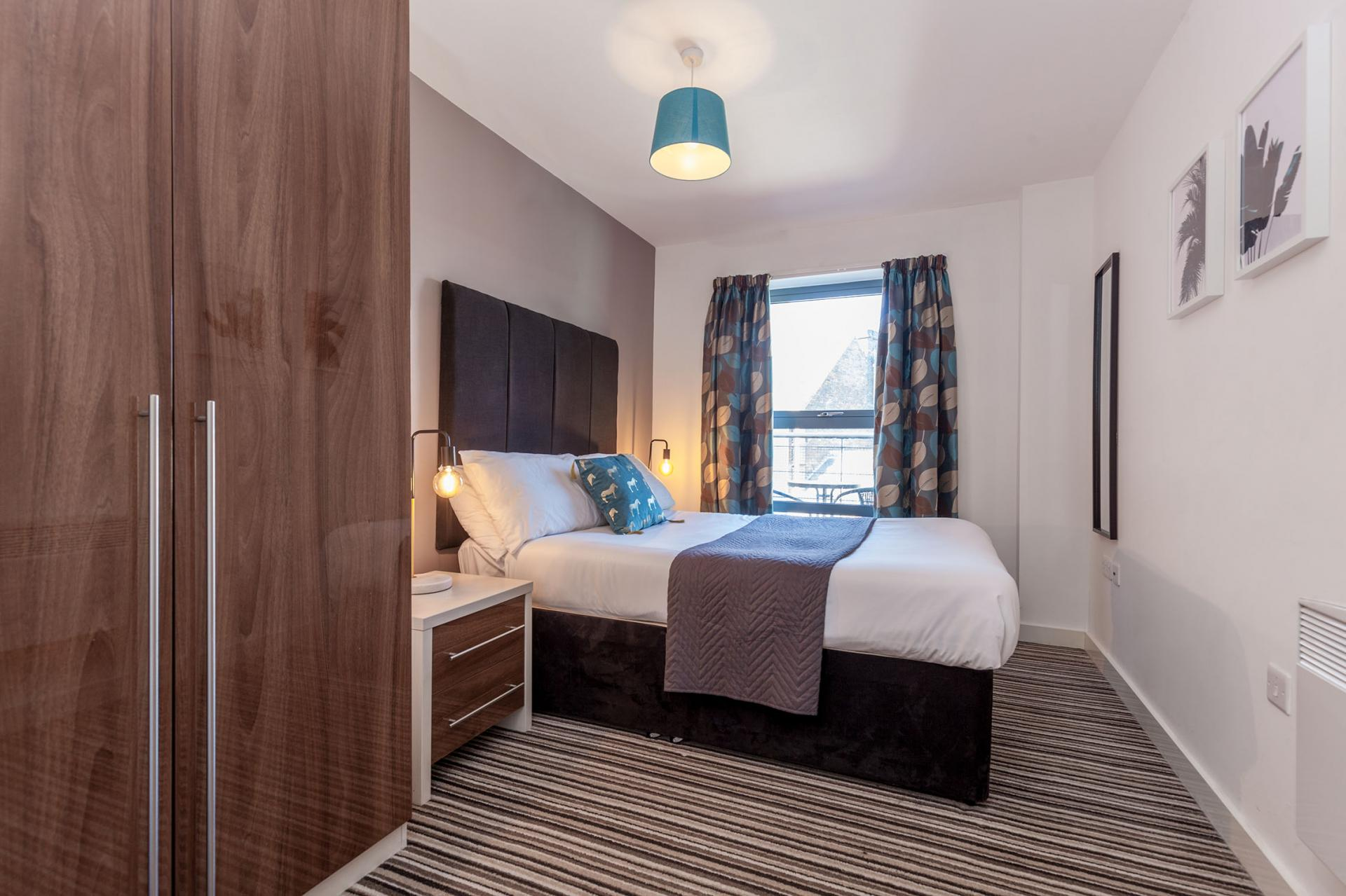 Bedroom at Waterloo Court Apartments - Citybase Apartments