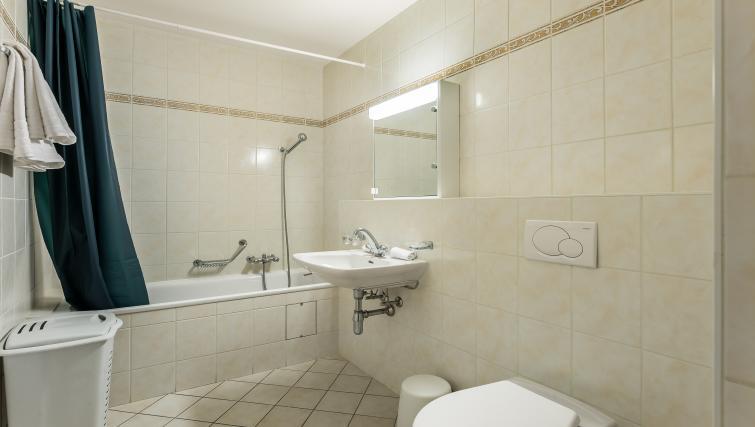 Toilet area at Athenee Apartments - Citybase Apartments