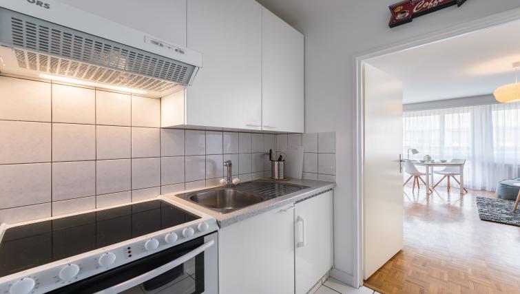 Kitchen at Athenee Apartments - Citybase Apartments