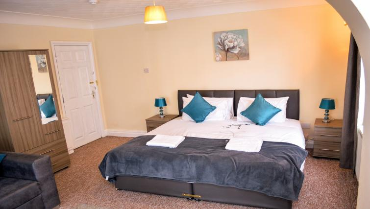 Bedroom at  Orrell House Apartments - Citybase Apartments