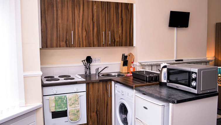 Kitchen at  Orrell House Apartments - Citybase Apartments