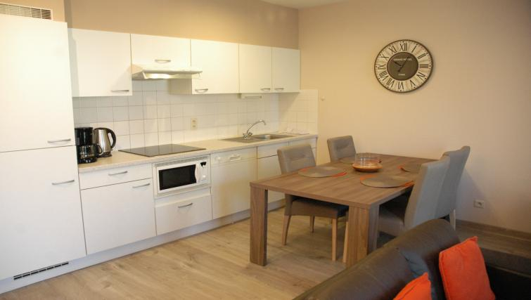 Dining area at Louise Residences - Citybase Apartments
