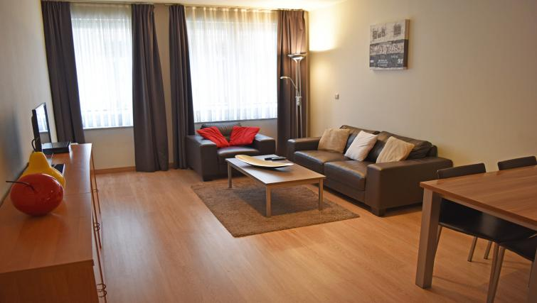 Living room at Louise Residences - Citybase Apartments
