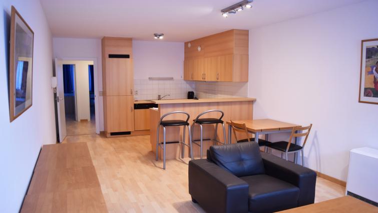 Spacious kitchen at Louise Residences - Citybase Apartments