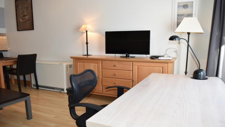 TV at Josephine Residences - Citybase Apartments