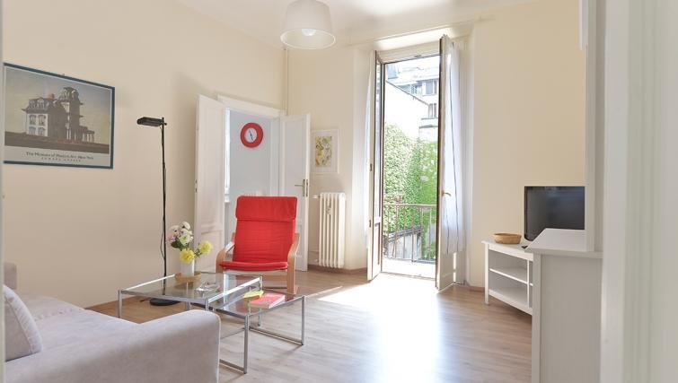 Lounge at San Vittore Apartment - Citybase Apartments