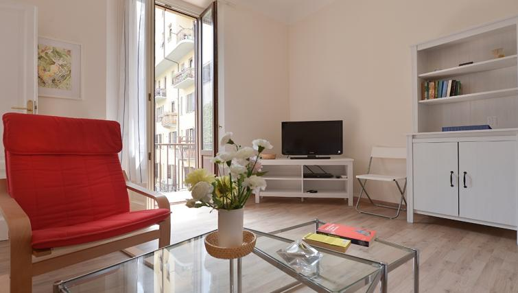 Living area at San Vittore Apartment - Citybase Apartments