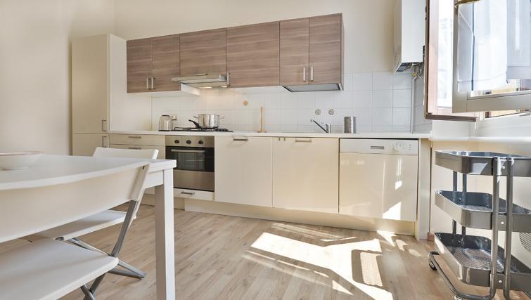 Modern kitchen at San Vittore Apartment - Citybase Apartments