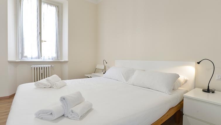 Bed at San Vittore Apartment - Citybase Apartments