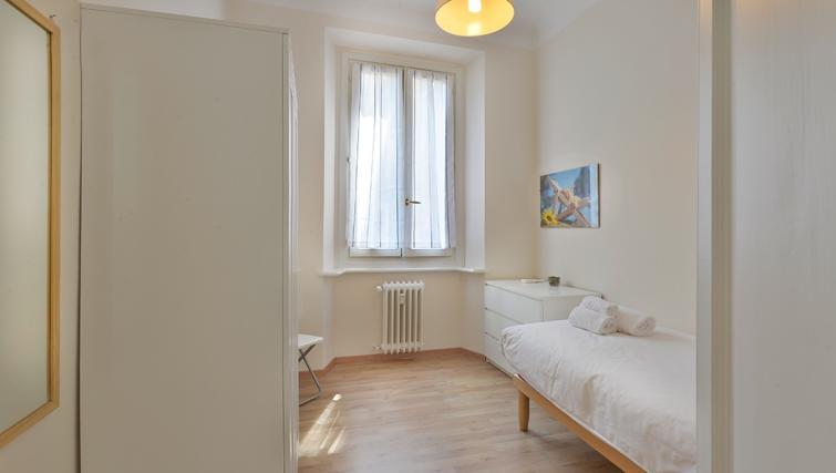 Single bed at San Vittore Apartment - Citybase Apartments