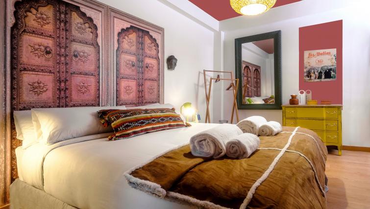 Bedroom at Atic Eloi Apartment - Citybase Apartments