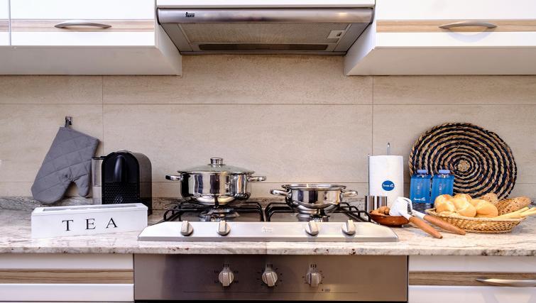 Kitchen at Atic Eloi Apartment - Citybase Apartments