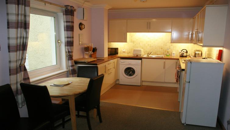 Kitchen at the Glenlochy Nevis Bridge Apartments - Citybase Apartments