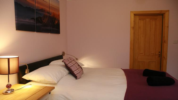 Bed at the Glenlochy Nevis Bridge Apartments - Citybase Apartments