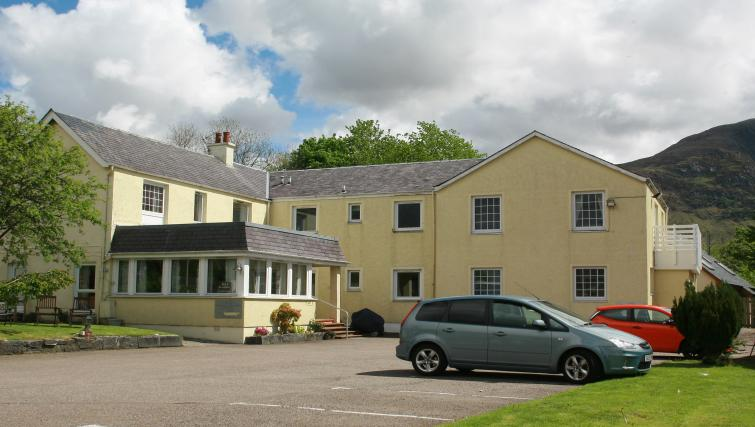 Exterior at the Glenlochy Nevis Bridge Apartments - Citybase Apartments