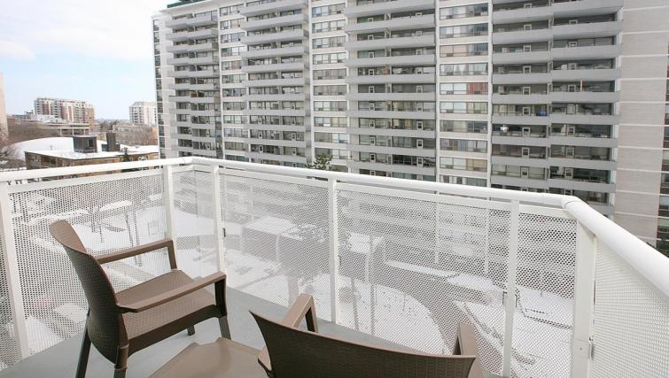 Balcony at the Balliol Park Apartments - Citybase Apartments