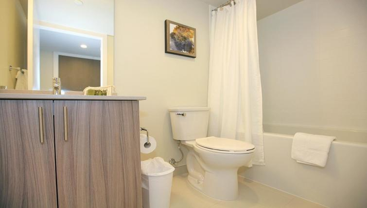 Bathroom at the Balliol Park Apartments - Citybase Apartments