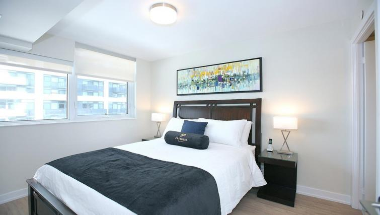 Bedroom at the Balliol Park Apartments - Citybase Apartments