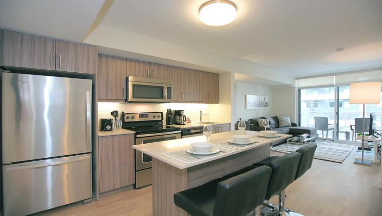 Kitchen at the Balliol Park Apartments - Citybase Apartments