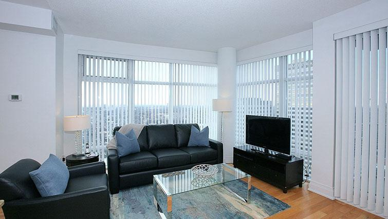 Lounge at Quantum North Apartment - Citybase Apartments