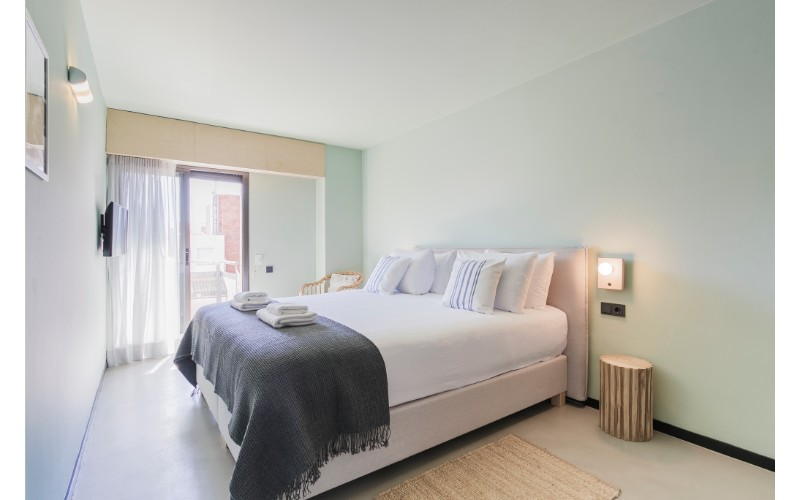 Bedroom at Yays Sagrera Apartments, La Sagrera, Barcelona - Citybase Apartments