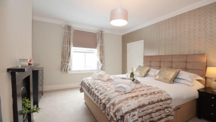 Bedroom at Hampden Street Apartment - Citybase Apartments