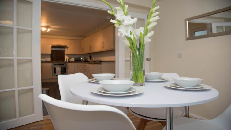 Dining table at Glen Lee View Apartment - Citybase Apartments