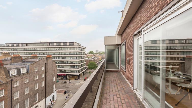 Balcony at Baker Street Apartment - Citybase Apartments