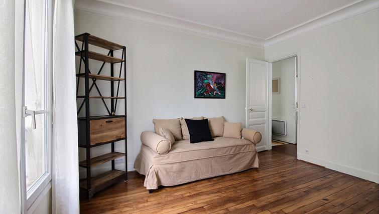 Sofa at Laromiguiere Apartment - Citybase Apartments