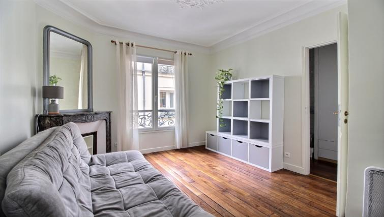 Living room at Laromiguiere Apartment - Citybase Apartments