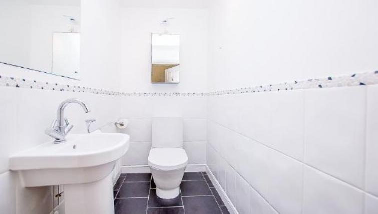 Toilet at The Boulevard Apartment - Citybase Apartments