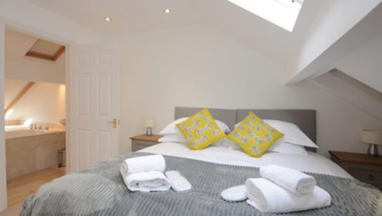 Bright bedroom at The Milfield Apartment - Citybase Apartments