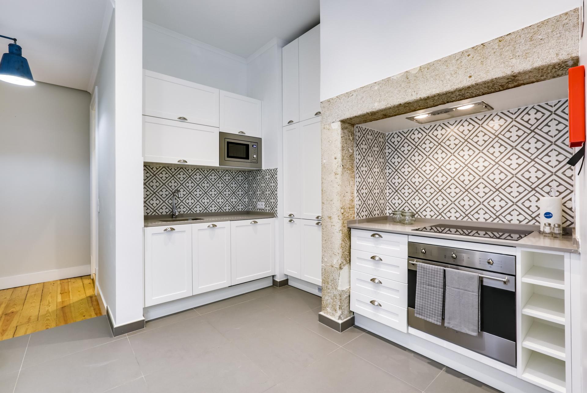 Kitchen at Prata Apartments - Citybase Apartments
