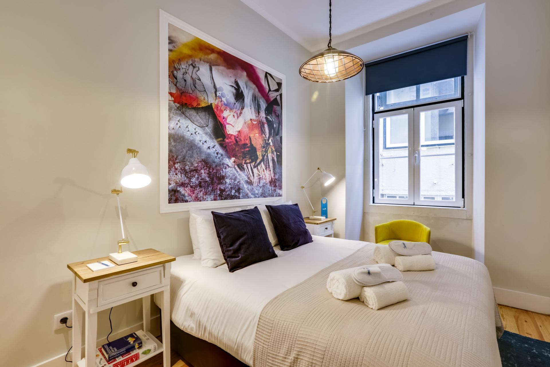 Bedroom at Prata Apartments - Citybase Apartments