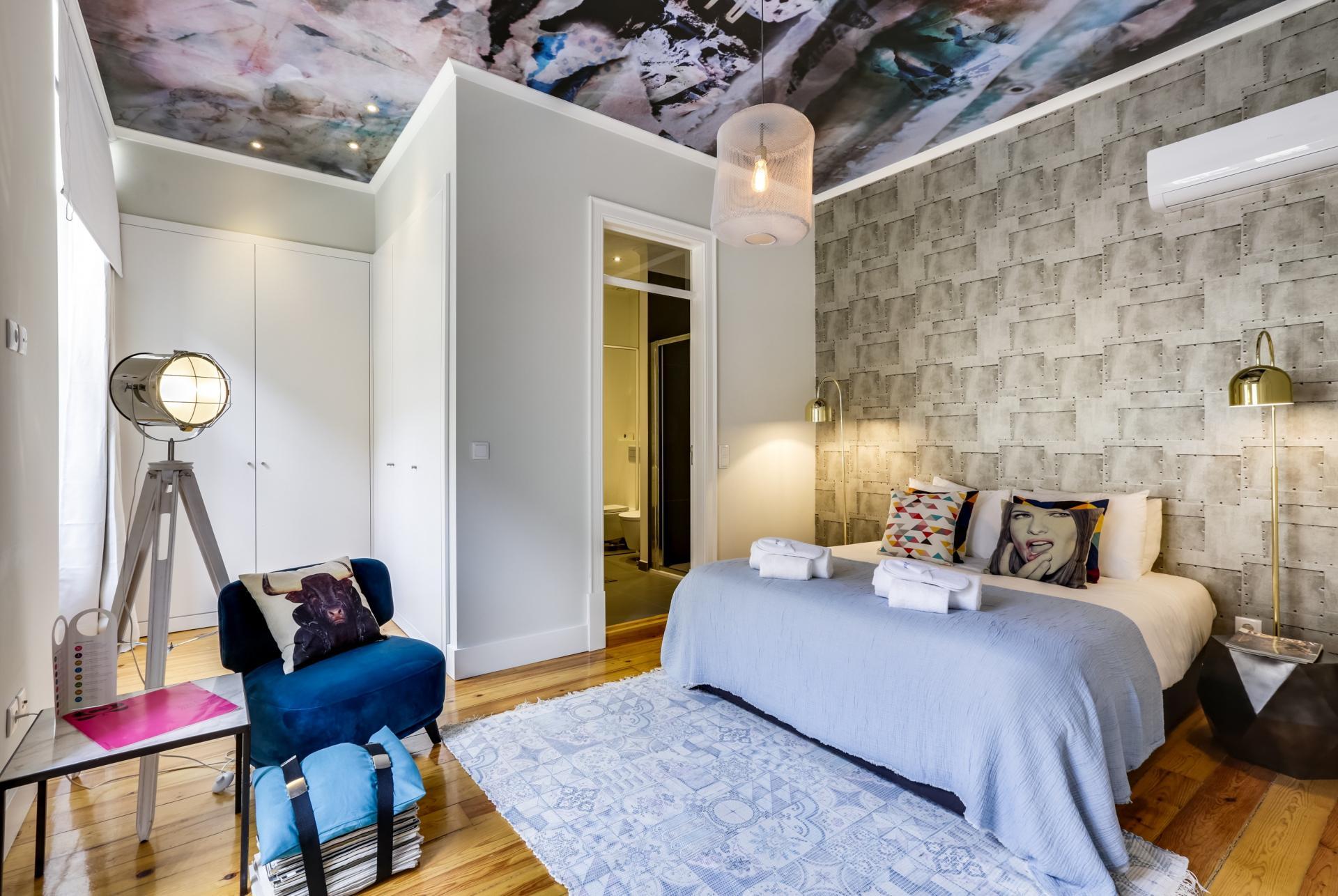 Stylish bedroo at Prata Apartments - Citybase Apartments