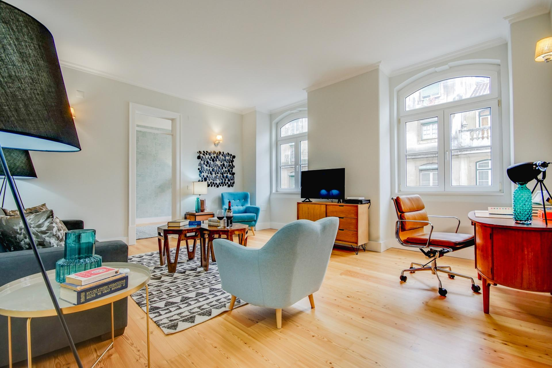 Spacious lounge at Prata Apartments - Citybase Apartments