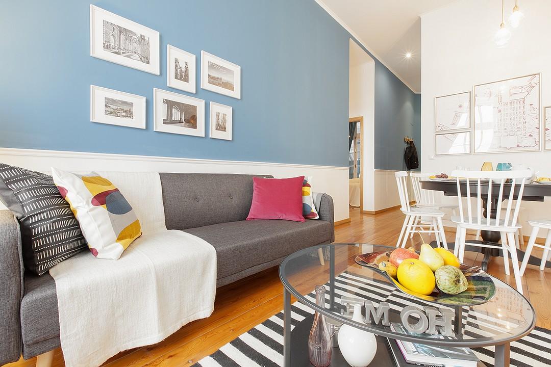 Coffee table at Prata Apartments - Citybase Apartments