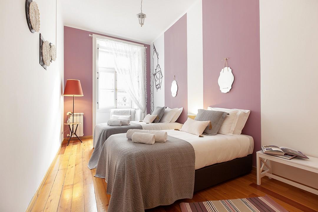 Large bedroom at Prata Apartments - Citybase Apartments