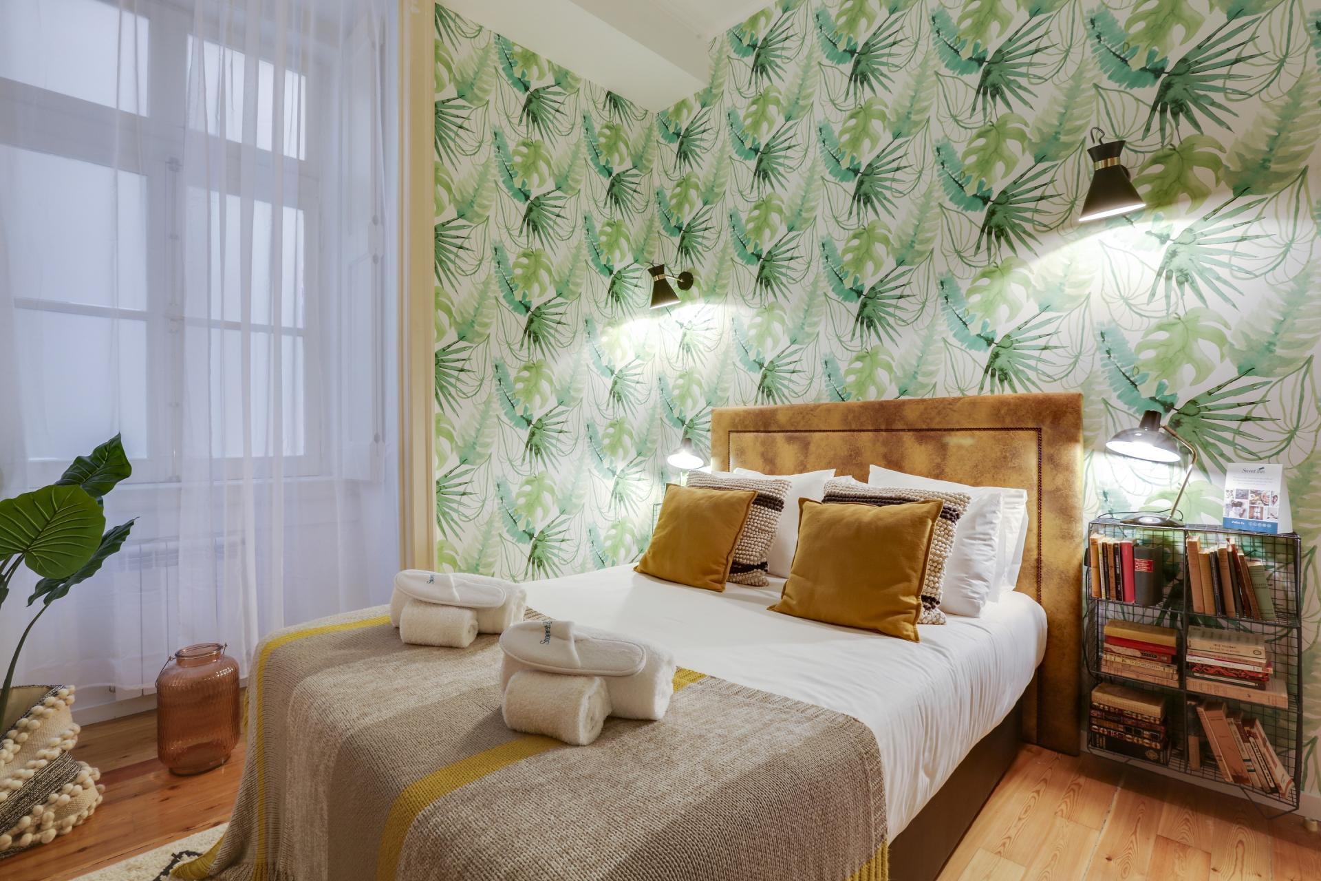 Modern bedroom at Prata Apartments - Citybase Apartments