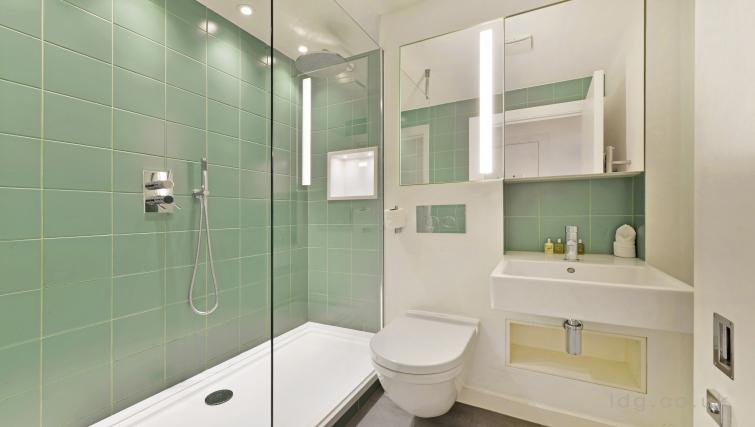 Bathroom at Old Compton House Apartments - Citybase Apartments