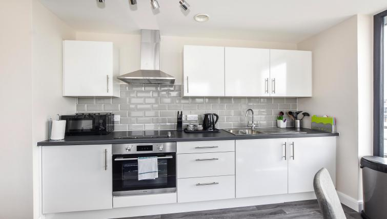 Kitchen at the Victoria House Apartments - Citybase Apartments