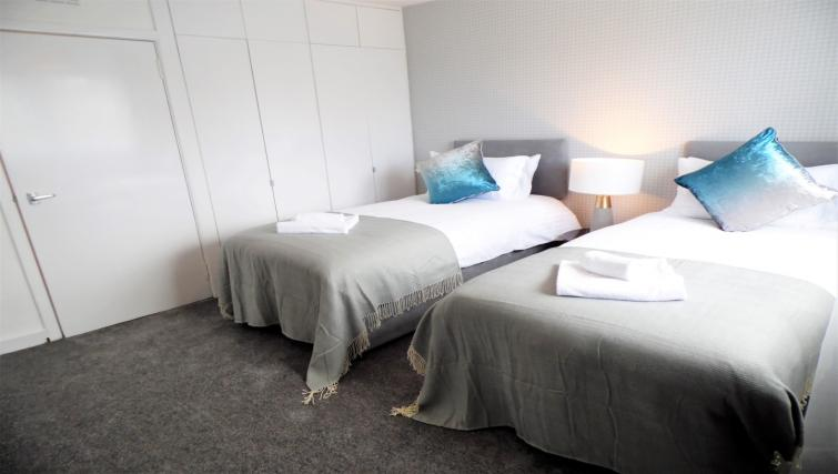 Spacious bedroom at Ness View Apartment - Citybase Apartments