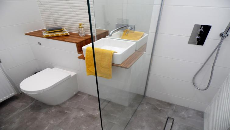 Bathroom at Ness View Apartment - Citybase Apartments