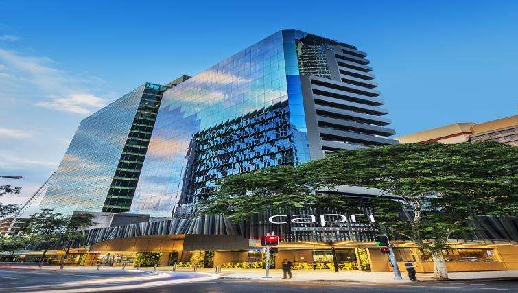 Exterior at Brisbane Capri by Fraser - Citybase Apartments