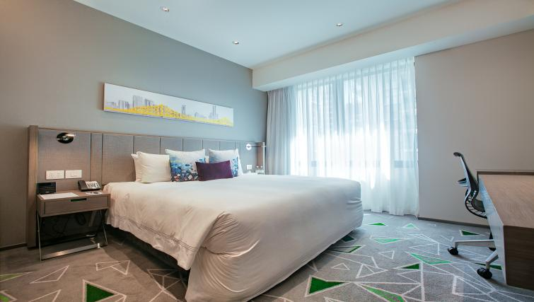 Bed at Brisbane Capri by Fraser - Citybase Apartments