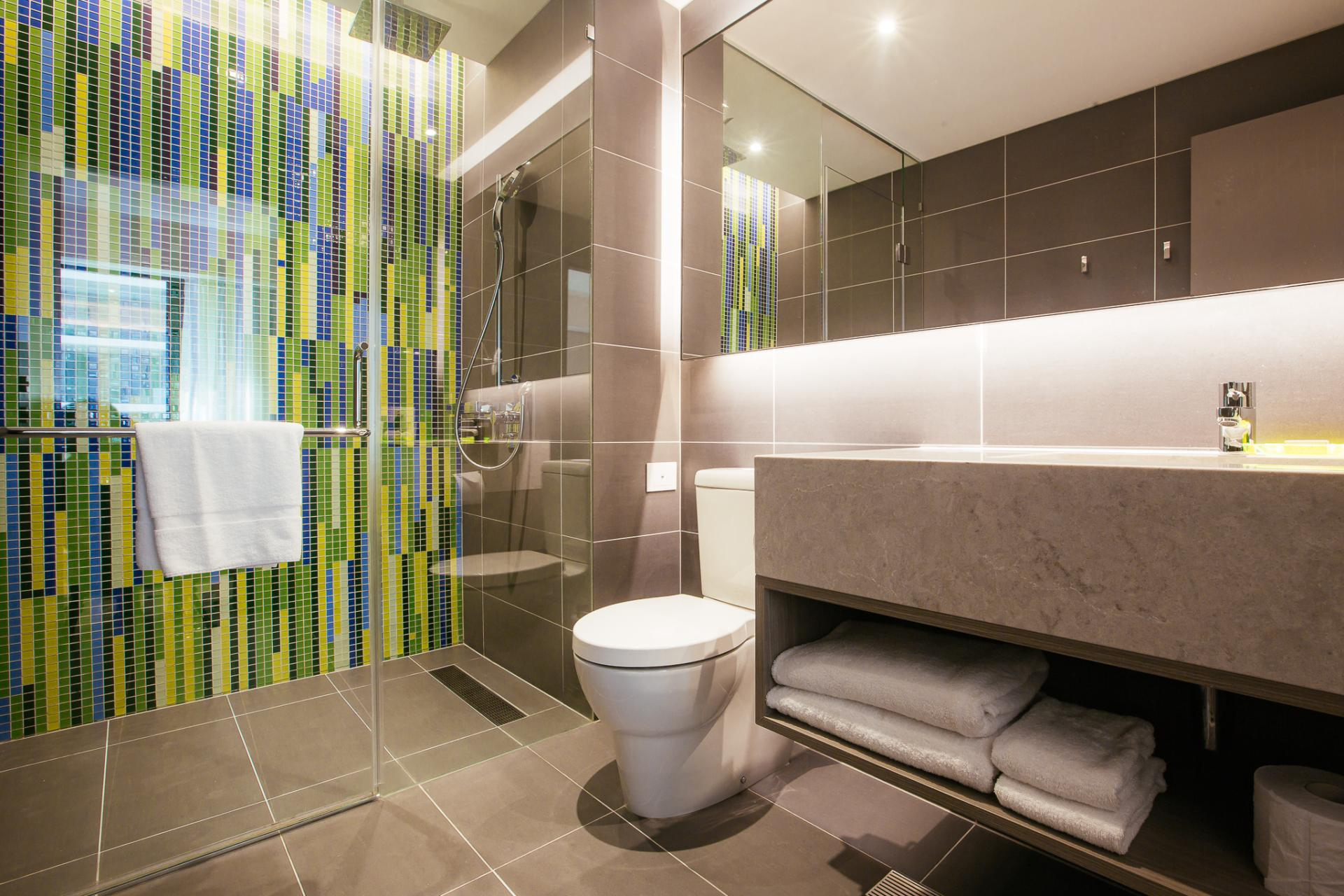 Bath at Brisbane Capri by Fraser - Citybase Apartments