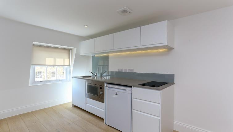 Kitchen space at the Kings Cross Serviced Apartments - Citybase Apartments