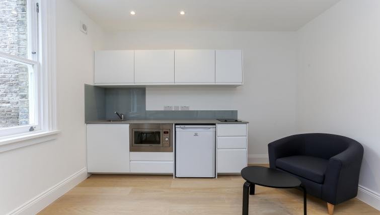 Kitchen at the Kings Cross Serviced Apartments - Citybase Apartments