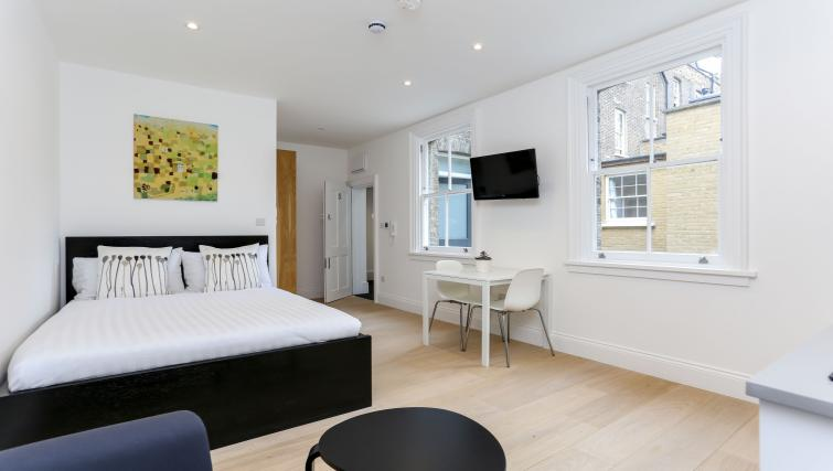 Living room at the Kings Cross Serviced Apartments - Citybase Apartments
