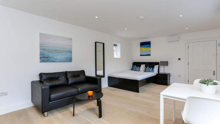 Bed at the Kings Cross Serviced Apartments - Citybase Apartments